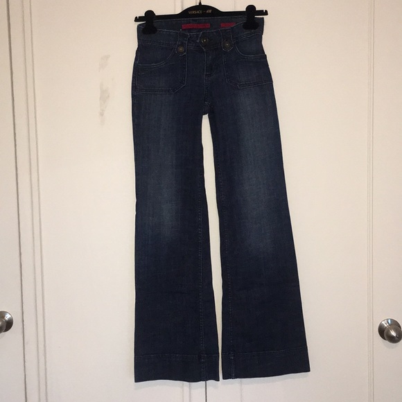 Banana Republic Denim - Wide Leg Jeans